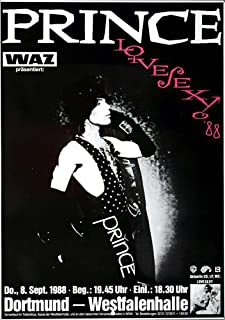 Prince - Lovesexy 1988 - Poster, Concertposter, Concert