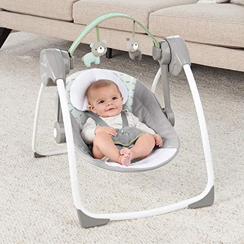 51UaE7ozqeL 10 Best Portable Baby Swings on the Market 2021 Review