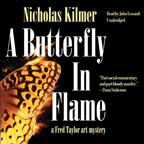 A Butterfly in Flame cover art