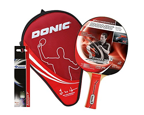 Read About DONIC Waldner 600 Table Tennis Rubber (Red)