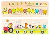 Item- Puzzle Madera Largo Encajes, Multicolor (JE-135185)