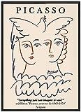 Surfilter Picasso Wandkunst Mädchen Frieden Taube