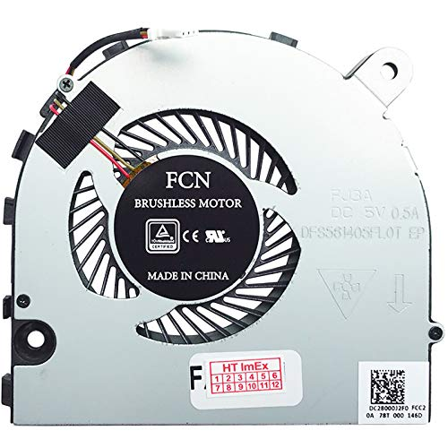 Fan Cooler Compatible with Acer Aspire VX 15 (VX5-591G-707K), 15 (VX5-591G-78HD), VX 15 (VX5-591G-5952), 15 (VX5-591G-78B8), VX 15 (VX5-591G-52P0)