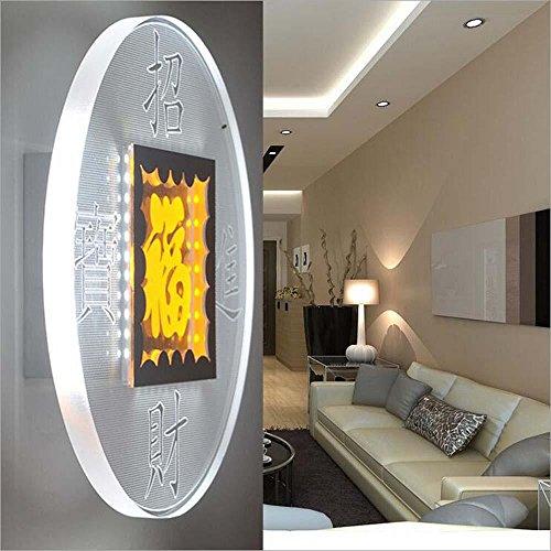 NIHE éclairage créatif salon chambre de mode puce LED applique murale acrylique