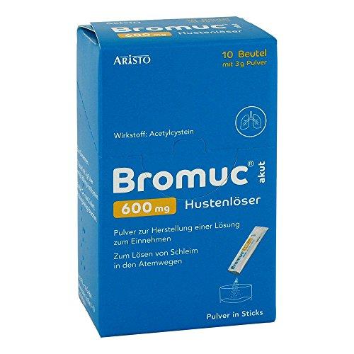 Bromuc akut 600 mg Hustenlöser, 10 St