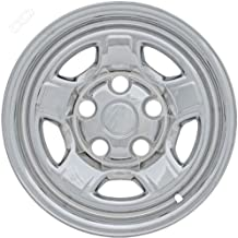 Coast To Coast IWCIMP72X 16 Inch Chrome Wheelskins With 5 Raised Spokes - Pack Of 4
