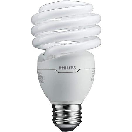 Philips 823031 CFL Light Bulb 13W T2 Twister Daylight 6500K, 60 Watt  Equivalent; 8-Pack - - Amazon.com