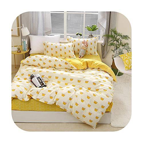 Double-sweet Printing Duvet Cover Sets King Activity Bedding Sets RU USA EU AU Size,Quilt Cover Sheet Set Bedroom Bedding Bed Linen AB side-09-HG-Flat Bed Sheet,EU King Size