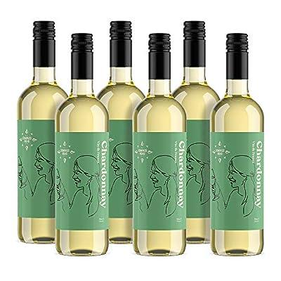 Amazon Brand - Compass Road White Wine Chardonnay, France (6x75cl)