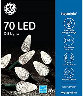 ge led c5 lights blue