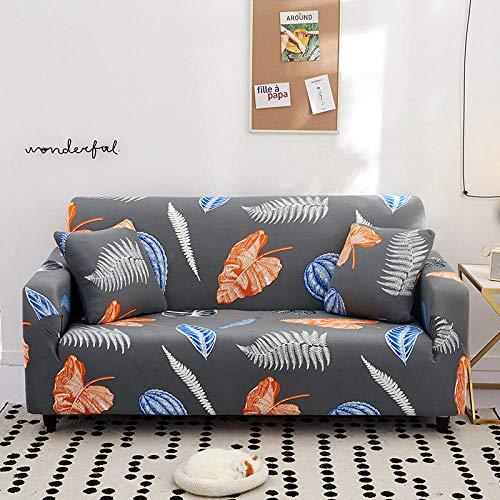 Allenger Stretchy 1/2/3/5-Seater Couch Cover,Elastische Sofabezug, rutschfeste All-Inclusive-Sofakissenbezug, universelle Sofastaubschutzhülle für alle Jahreszeiten - Farbe 19_90-140 cm