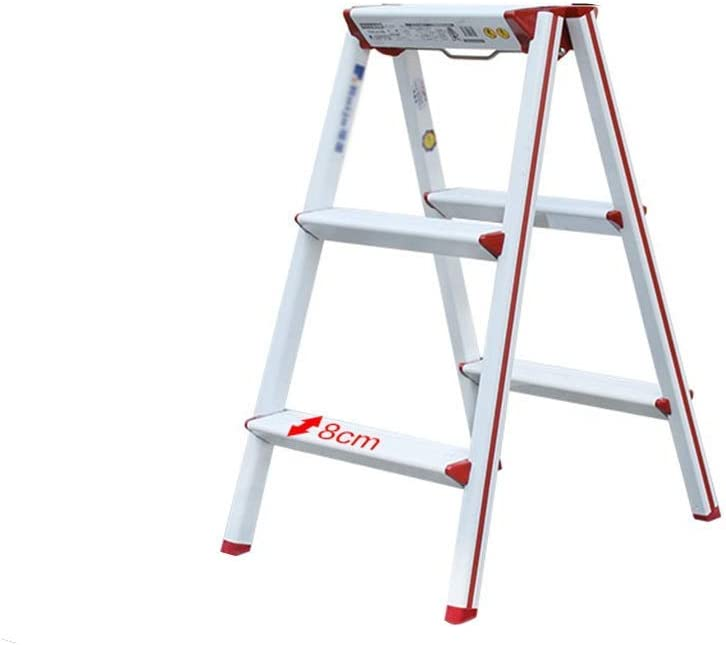 LSNLNN Ladders Bilateral Metal Ladder Free shipping Wall Decoration Limited time trial price Ho