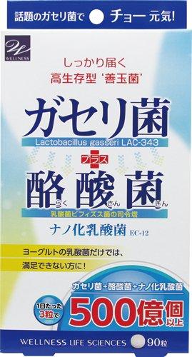 ガセリ菌+酪酸菌 90粒