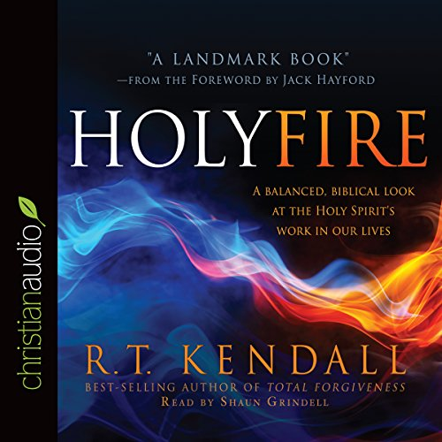 Holy Fire audiobook cover art