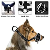 HomeChi Dog Muzzle, Update More Comfortable Prevent from Biting Barking Chewing Behavior Training