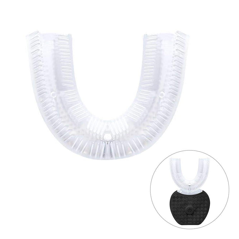 五月個人ラグUシリコン歯ブラシヘッド 歯ブラシの交換用ヘッド シリコーン 歯ブラシ交換ヘッド 歯ブラシの頭 電動歯ブラシ クリーニングブラシアクセサリー オーラルケア用品 約6 5 2.5cm