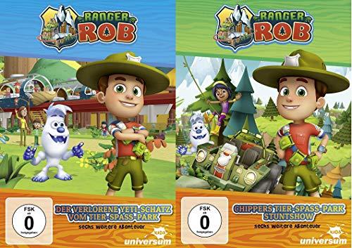 Ranger Rob DVD 1+2 im Set - Deutsche Originalware[2 DVD]