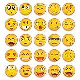 Emoji Magnets for Refrigerator 3D Funny Fridge Magnets Suitable for Kitchen Student Locker