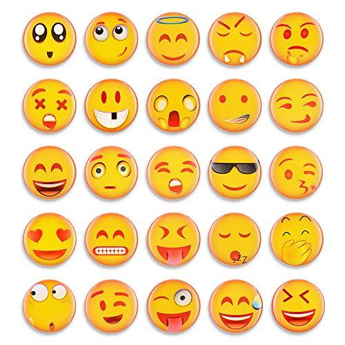 25 Emoji-Magneten