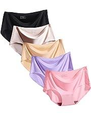 Bolossonレディースシームレス ショーツ レースセクシーショーツ下着パンツ可愛い 5枚セット/3枚セット