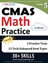 CMAS Test Prep: 5th Grade Math Practice Workbook and Full-length Online Assessments: Colorado Measures of Academic Success Study Guide