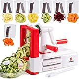 Dimrom, Spiral Vegetable Cutter, Pasta Noodle Maker -...