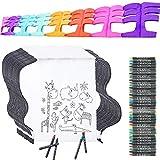 Nuevo 6 x Para colorear Lápiz conjuntos de 6 niños la mitad de tamaño Fiesta Boda Favores Bolsa Relleno