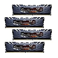 G.Skill 32GB Flare X DDR4 3200MHz PC4-25600 for AMD Ryzen CL16 Quad Channel Kit (4x8GB)