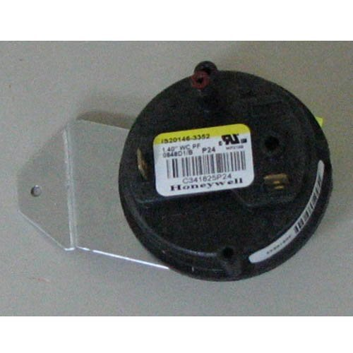 Trane OEM Furnace Draft Air Pressue Switch 1 Single Stage 1.40 SWT3221