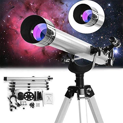 DIELUNY Telescopio Bierglaks 675x Telescopio astronómico de Zoom y refracción de Gran Aumento para observación Espacial Celestial Visión Nocturna Ajustable HD (Color: como se Muestra, tamaño: 900 mm)