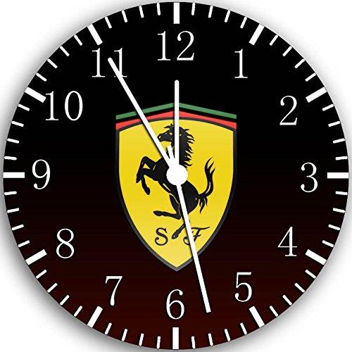 Ferrari super Car Wanduhr 25,4 cm Will Be Nice Gift und Raum Wand Decor W434