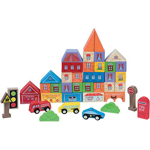 FIRST LEARNING - 18540Bk - Baril - Construction Ville - 40 Pièces