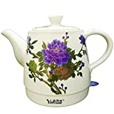 Z & X ZX Wasserkocher Wasserkocher Chinesischer Stil Keramik Chinesische klassischen Watercolor...