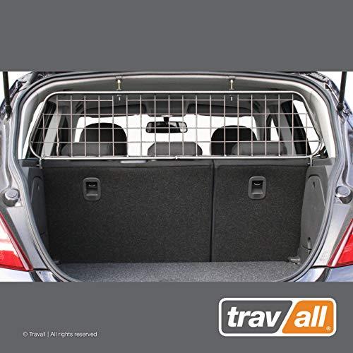 Travall Guard Hundegitter Kompatibel Mit Opel Corsa 5 Türer Fließheck (2006-2019) TDG1090 - Maßgeschneidertes Trenngitter in Original Qualität