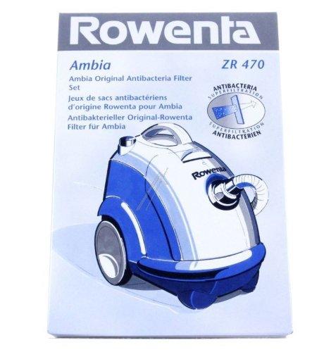 ROWENTA - SACHET DE SACS AMBIA ROWENTA (x6) POUR ASPIRATEUR ROWENTA