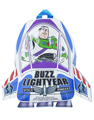 Disney Toy Story Buzz Lightyear caja de la novedad 3D Rocket Mochila