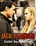 Jack Reacher Color By Number: Jack Reacher Book An Adult Coloring Book For Stress-Relief