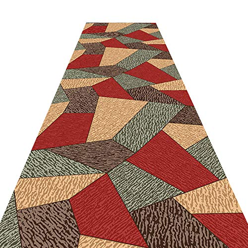 Takeashi Hallway Runner Rug for Bedroom Living Room Home Decorate Washable Abstract Modern Area Rug Easy to Clean Multipurpose Mats Indoor or Outdoor Use Slip Resistant Custom Size