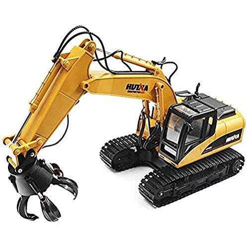 WANGCH 1:14 Modelo de simulación de Coche de Juguete, Tractor de ingeniería,...