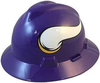 NFL V-Gard Full Brim Hard Hat, Minnesota Vikings
