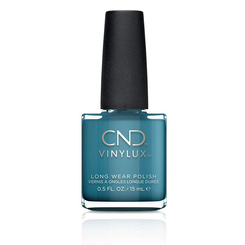令状ヘア上陸CND Vinylux Nail Polish - Fall 2017 Night Spell Collection - Viridian Veil - 0.5oz / 15ml