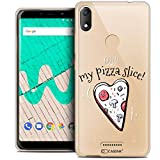 Ultra Slim Case for 6 Inch Wiko View Max, Love My Pizza