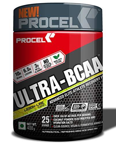 PROCEL ULTRABCAA Powder with 2X Leucine BetaAlanine Amino