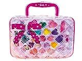 Lisciani - Barbie - Trendy Trousse - Kit de maquillaje para niñas a partir de 5 años