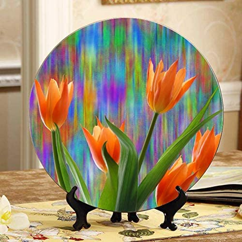 ALALAL Tulips Spring Easter Max 79% OFF Nature Ceramic Plant Flower Blossom Ultra-Cheap Deals