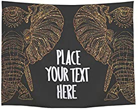 Home Decorative Wall Hanging Elephant Printed Tapestry Yoga Mats Living Bedspreads Tablecloths Beaches Cover Up Beach Towel Throw Blanket