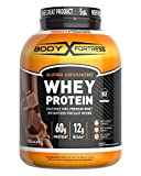 Body Fortress Super Advanced Whey Protein Powder, Gluten Free, Chocolate, 5 Lbs...