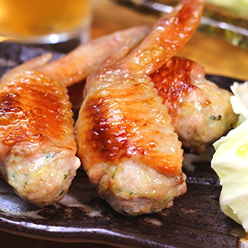 水郷のとりやさん 国産 鶏肉 手羽先餃子 5本入×1袋 手羽 餃子 1人前〜2人前 冷凍食品 点心