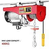 Paranco elettrico, 400 kg, paranco a fune, 230 V, 12 m, automatico per installazione...