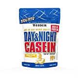 Weider, Day & Night Casein Protein, Vanille-Sahne, 1er Pack (1x...